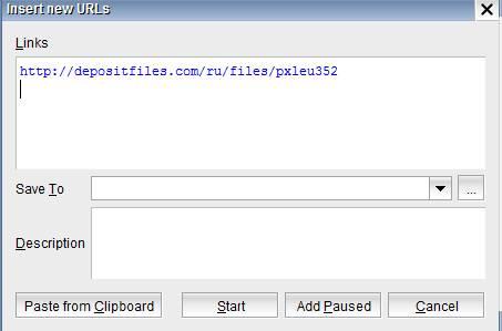 Или же просто добавив в строчку ссылки depositfiles две английские буквы ss http://rusavefromnet