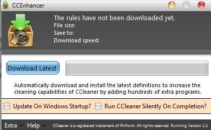 как настроить Ccleaner с помощью программы CCenhancer - скриншот 1
