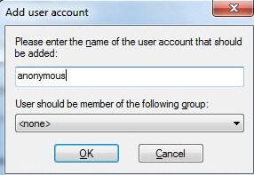 FTP FileZilla Server - скриншот 18 - задаем доступы пользователям
