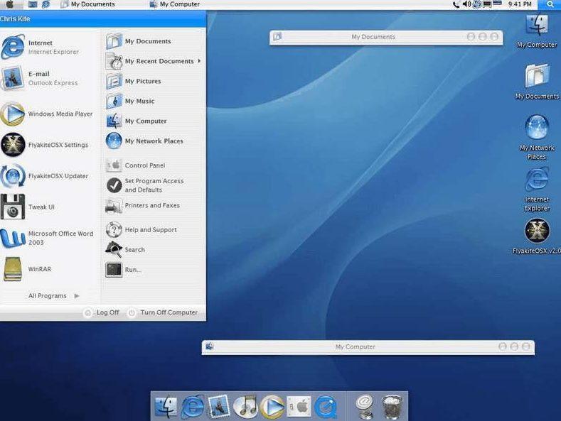 Mac тема для Windows - скриншот 3