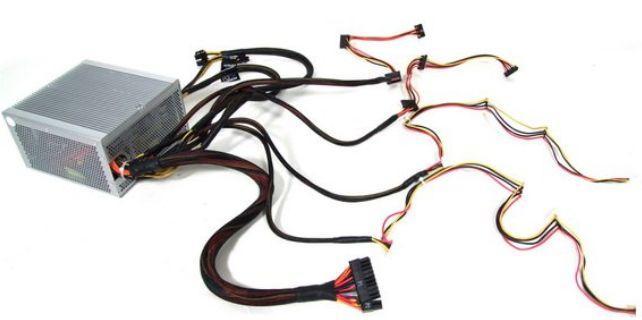 как выбрать блок питания - БП - модульное устройство проводов