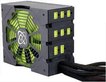 БП с отключенными модулями проводов