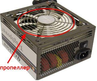 как выбрать блок питания - БП с вентилятором