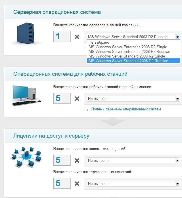 онлайн-калькулятор ПО