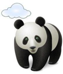 облачные технологии - антивирус панда - логотип