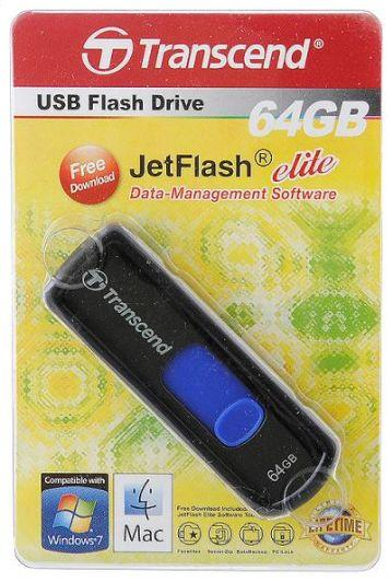 Флешка USB 64Gb Transcend Jetflash 500 TS64GJF500