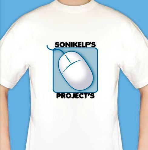 футболка с логотипом проекта