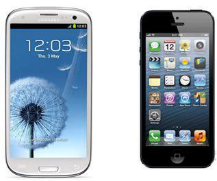 Смартфоны Google и Apple