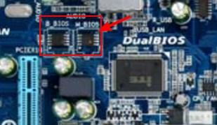 материнская плата, микросхема BIOS