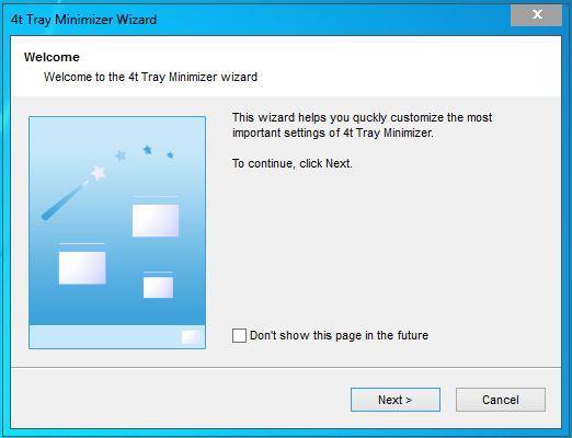 Как свернуть любую программу в трей - 4t Tray Minimizer Free