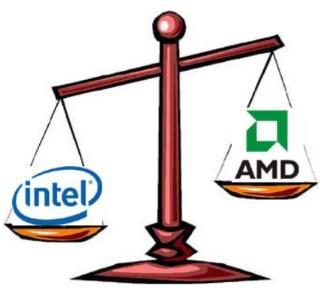 какой процессор выбрать - скриншот 1 - Intel или AMD