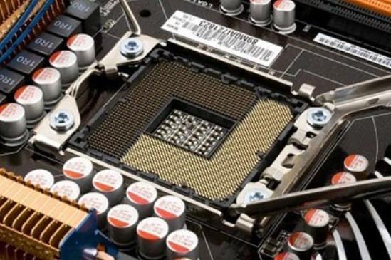 какой процессор выбрать - скриншот 4 - сокет на материнской плате