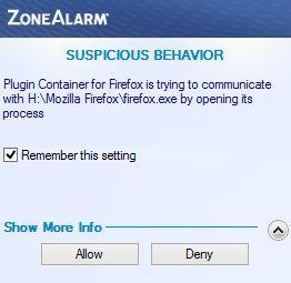 zone alarm фаерволл настройка для защиты 7