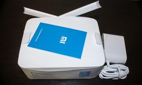 XiaoMi Mi WiFi Router 1TB - обзор - unboxing - распаковка - фото - 3