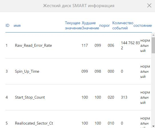 обзор роутера - XiaoMi Mi WiFi Router [1Tb] (R2D) - состояние SMART и диска - скриншот 10