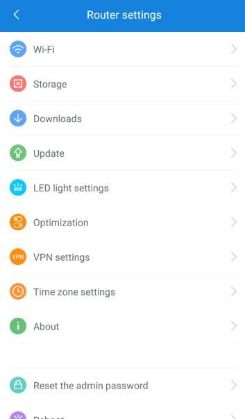 обзор роутера - XiaoMi Mi WiFi Router [1Tb] (R2D) - мобильное приложение Mi Router - скриншот 6