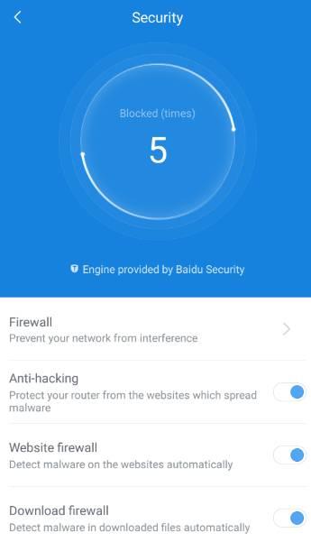 обзор роутера - XiaoMi Mi WiFi Router [1Tb] (R2D) - мобильное приложение Mi Router - скриншот 7