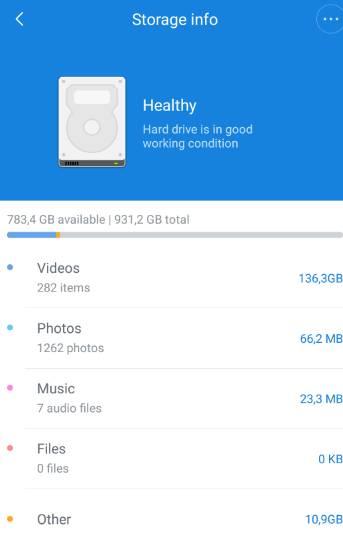 обзор роутера - XiaoMi Mi WiFi Router [1Tb] (R2D) - мобильное приложение Mi Router - скриншот 10