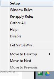 настройка программы VirtuaWin - скриншот 1