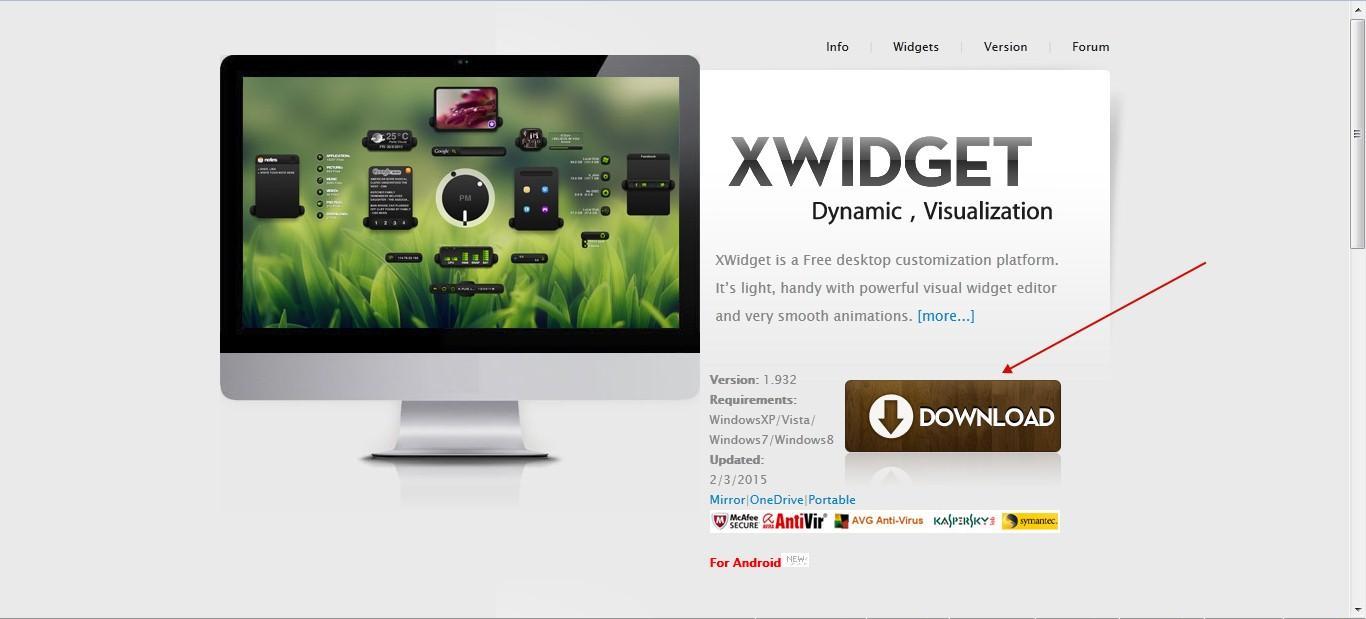 site XWidget