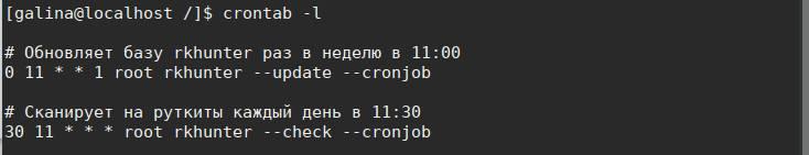 как удалить руткиты в линукс - скриншот 10