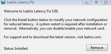 leatrix latency fix - окно программы, чтобы уменьшить пинг - скриншот 3