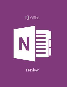 microsoft office windows 10 - one note