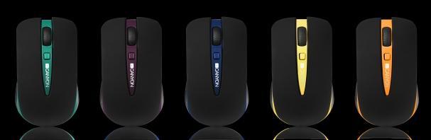 Мышь Canyon CNS-CMSW6 - цветовые варианты