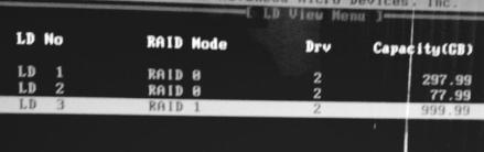 рейд массив - результат - скриншот 9