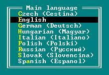 выбор языка в FAR
