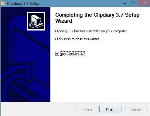 clipdiary - восстанавливаем и запоминаем буфер обмена - установка - скриншот 2