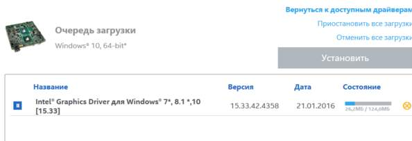 загрузка и установка драйвера intel hd - igfxHK Module - igfxTray - для ошибки