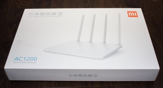Xiaomi Mi WiFi Router 3 обзор - unboxing - фото - 1