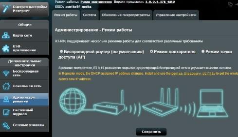 расширение wi-fi покрытия - режим повторителя - 1
