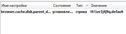 browser.cache.disk.parent - перенос firefox кеша и профиля