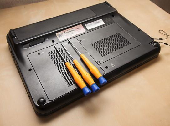 отвертки для разборки ноутбука