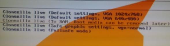 создание образа диска - clonezilla - бесплатный аналог acronis - скриншот 3