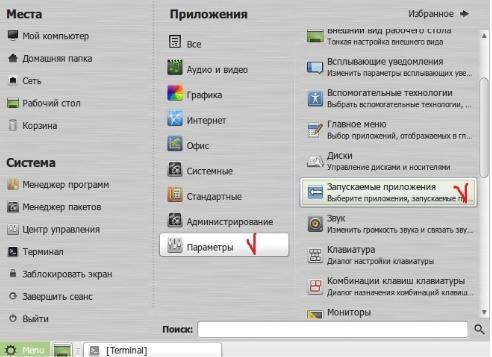 как сделать рабочую станцию на linux mint - скриншот 4