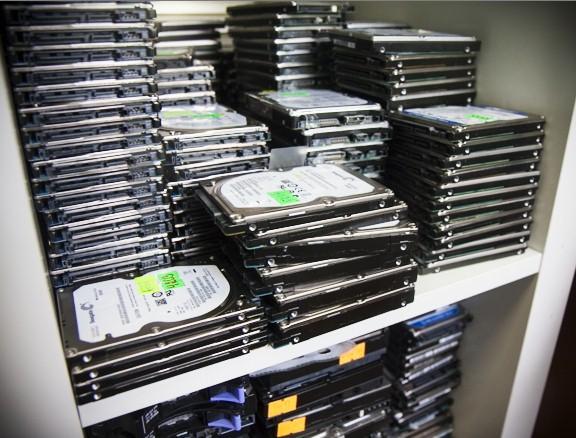 datarecovery - компания по восстановлению данных, жесткие диски 3