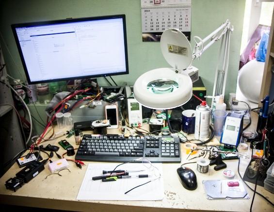 datarecovery - восстановление данных с флеш-носителей, репортаж, рабочий стол