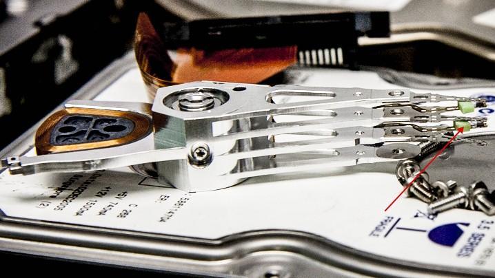 головки жесткого диска datarecovery