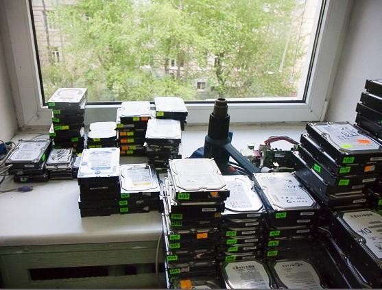 жесткие диски, восстановление данных, datarecovery