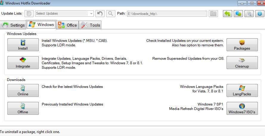 Windows Hotfix Downloader - инструмент по работе с обновлениями Windows