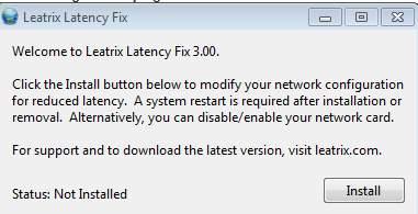 установка leatrix latency fix для снижения пинга