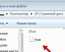 truecrypt - файл для монтирования тома шифрования флешки