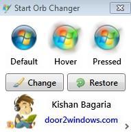 Start Orb Changer - программа для смены кнопки