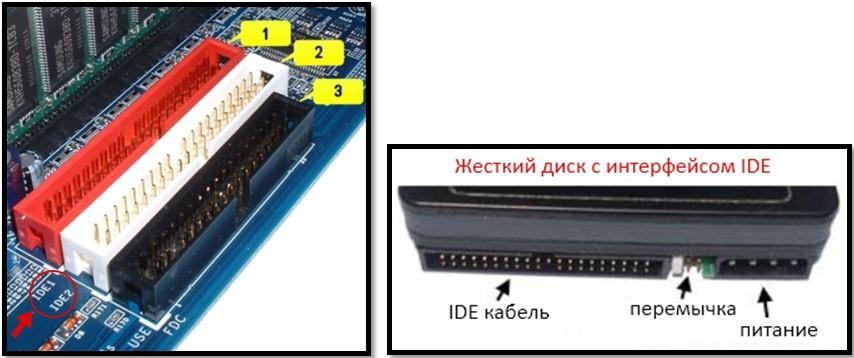 IDE коннектор