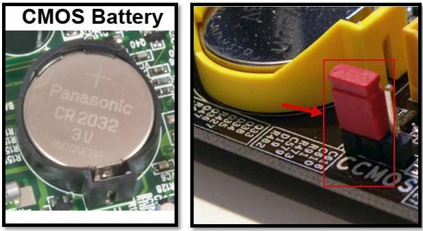 CMOS батарейка