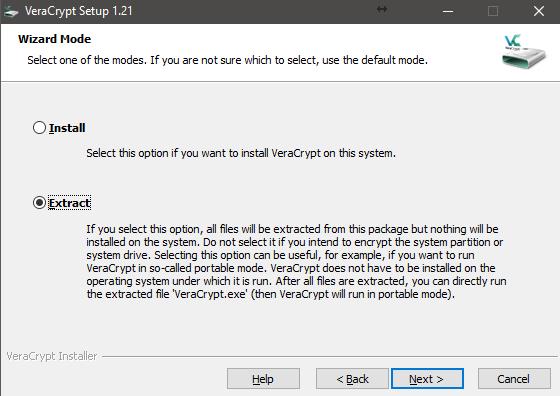 VeraCrypt - установка программы для шифрования - обзор процесса - скриншот 3