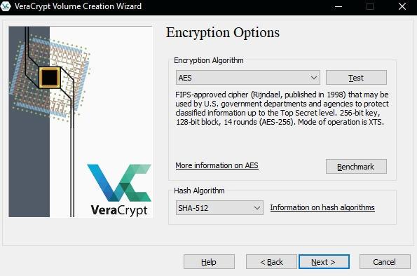 как зашифровать файлы и скрыть их паролем - VeraCrypt инструкция - скриншот 6